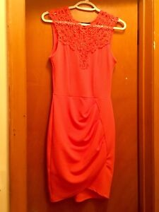 Orange Dress - small