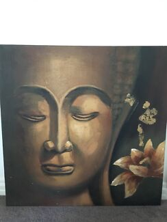 Large canvas print Buddha