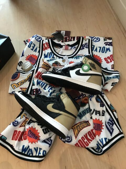 c19173ca Nike Air Jordan 1 Gold Toe Size 10 with stockX authentic   Men's Shoes