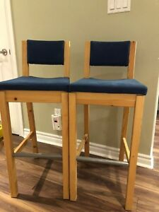 IKEA bar stool 2pcs