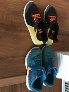 Boys Nike sneakers, size 2