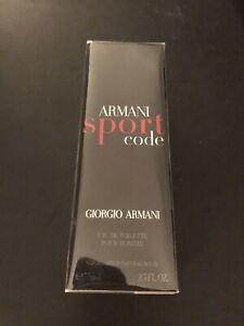 Armani Code Sport Eau De Toilette for sale