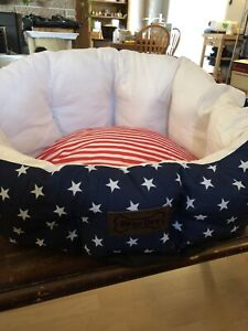 New Stars and Stripes dog bed