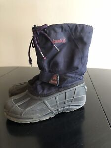 Youth Size 5   Kamik Winter boot
