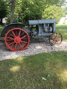 Wanted Old steel wheeled tractor