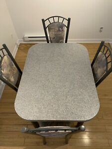 4 set Table with Chairs  *Made in Canada*