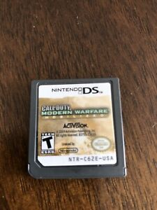 Call of duty modern warfare nintendo DS game