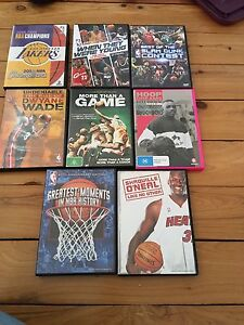 Basketball DVDs - SOLD TOGETHER Mayfield West Newcastle Area Preview