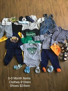BABY ITEMS - $5 and less per item