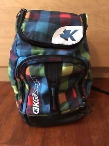 Sac K&B pour bottes de ski et casque pour enfant