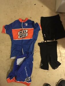 Youth cycling gear