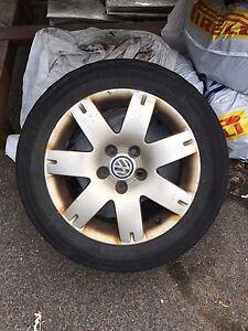 Rims from Volkswagen Passat