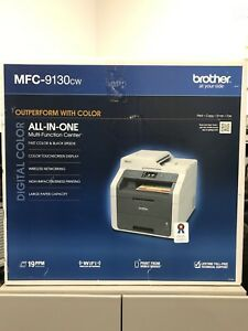 Brother MFC-9130CW Color Laser Multifunction Center