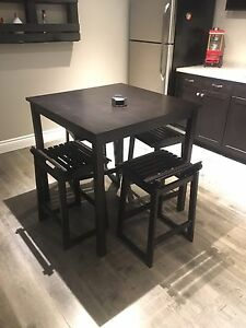 MOVING - Pub Table Set - Can Deliver Must Go