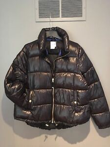 Gap puffer women's jacket coat Sz L new with tags