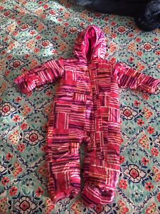 Columbia goose down baby snowsuit 24 month