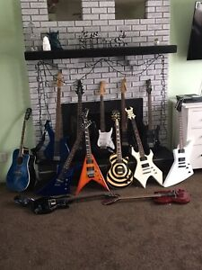 Guitars for trade for off road toy