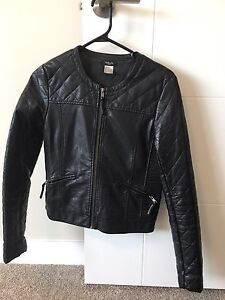 Leather jacket small to medium