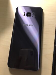 Like new Samsung S8 plus orchid gray