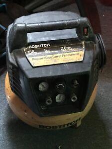 Bostitch 6gal compressor