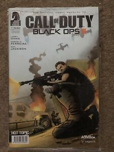 Cod Black Ops 3 Comic Book & Double-Sided Poster