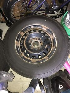 235/70R16 Winter Tires w/ rims (negotiable)