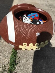 Football toy chest full