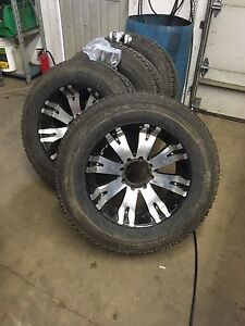 "20"" Rims and Tires 8 Lug"