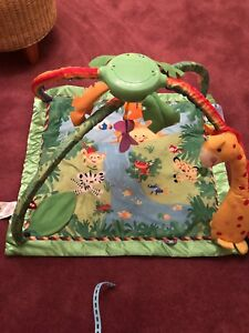 Fisher Price Rainforest and Lights Deluxe Gym