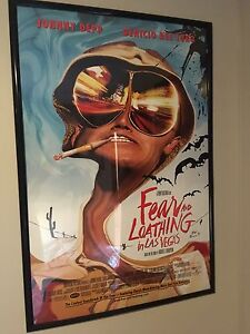Fear and loathing in Las Vegas - original framed movie poster