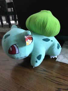 Bulbasaur Pokemon stuffed animal CNE