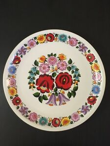 Kalocsa Plate Collection (7 items available individually)