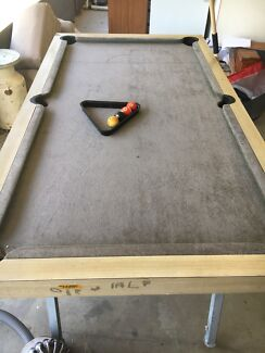 Pool Table Homemade