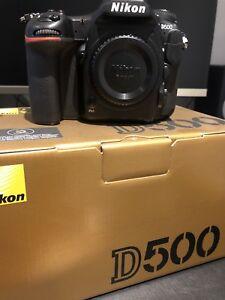 Nikon D500 boitier seul!  NEGO