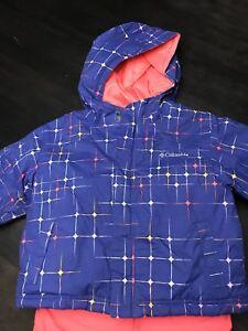 Girls Columbia Snow Suit size 4T