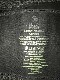 Belly bandit belly band large used clean