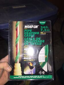 Pipe tape heaters