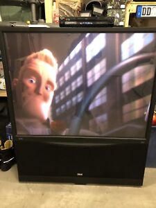 """60"""" RCA projection tv"""