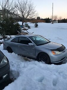 2003 Civic Coupe part out