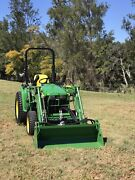 John Deer 3 Series Compact Utility Tractor for hire  Mount Nathan Gold Coast West Preview