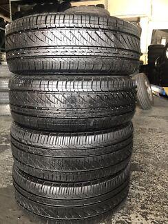 195/60R15 set of 4 Excellent Tyres Bridgestone Turanza.