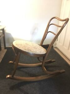 J & J Kohn bent wood rocker