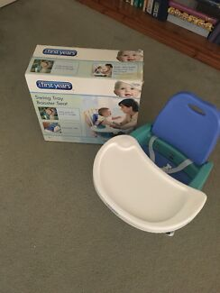 Baby swing tray booster  seat in EC