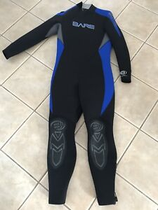 Wetsuit bare 7/6 mm