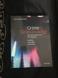 Crime & Criminology-An Introduction to Theory- 3rd Edition
