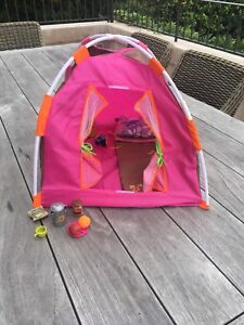 American girl doll/ our generation camping clothes and accessories
