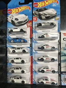 Hot Wheels Porsche group