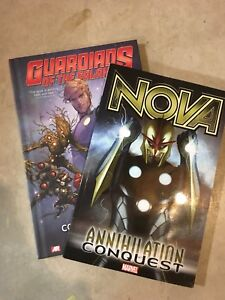 Guardians of the Galaxy and Nova comic books - New condition