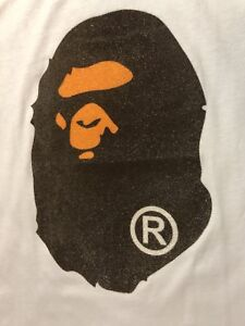 Brand new Bape  Big Head A Bathing Ape T-Shirt / Tee