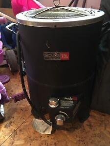 Char broil turkey fryer with propane tank